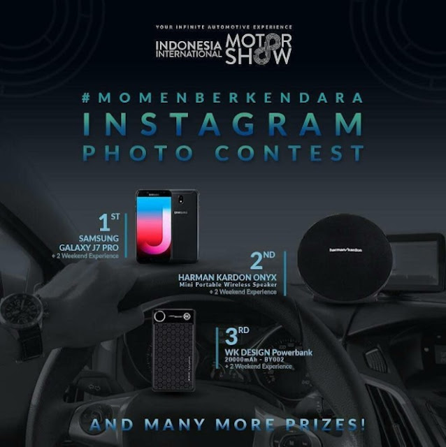 Lomba Instagram Photo Contest 2018 Indonesia Internasional Motor Show