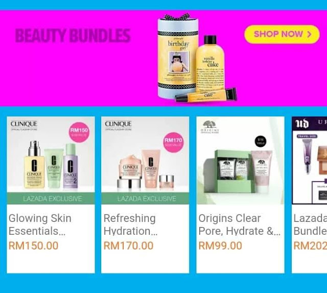 Lazada Super Beauty Day Beauty Bundles