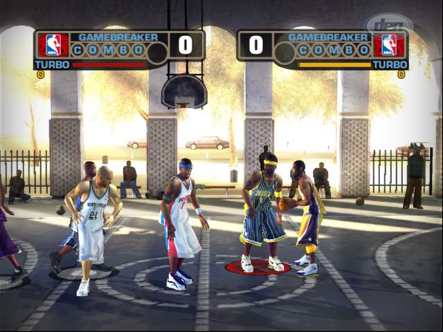 NBA Street V3 PS2 GAME ISO Gameplay