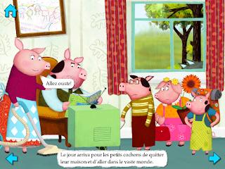 Les trois petits cochons - lulenlune.blogspot.com