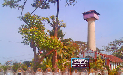 Tagore Park on light house hill for kids enjoyment on the weekends