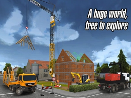 Construction Simulator 2014 Mod Apk Unlimited Money-akozonet