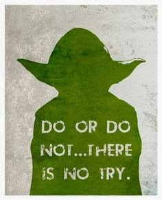 Yoda Star Wars Motivational Quote