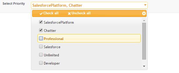 cloudy abhi ☁: Salesforce Multi-Select Picklist Using JQuery