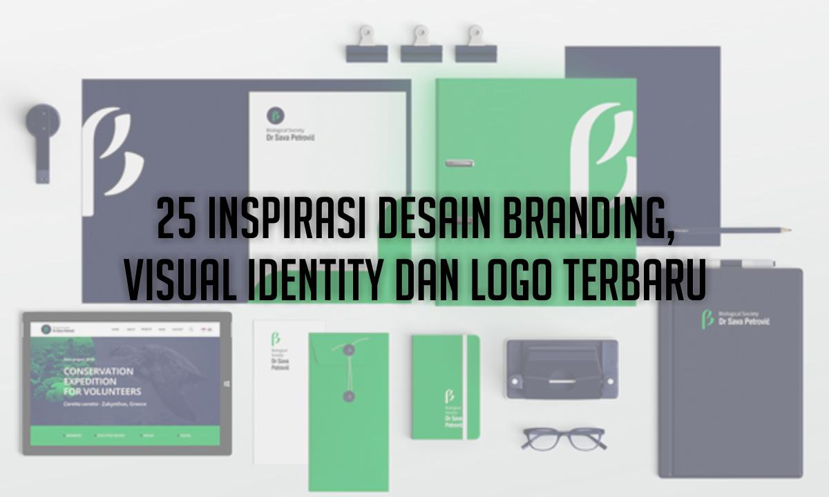25 Inspirasi Desain Branding, Visual Identity dan Logo Terbaru