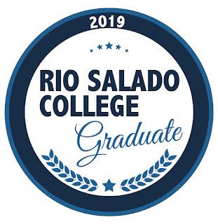 Rio Salado 2019 grad badge