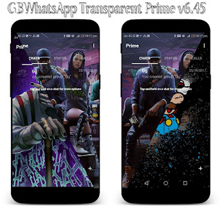 GBWhatsApp Transparent Prime v6.45 Latest Version Download Now By Sam