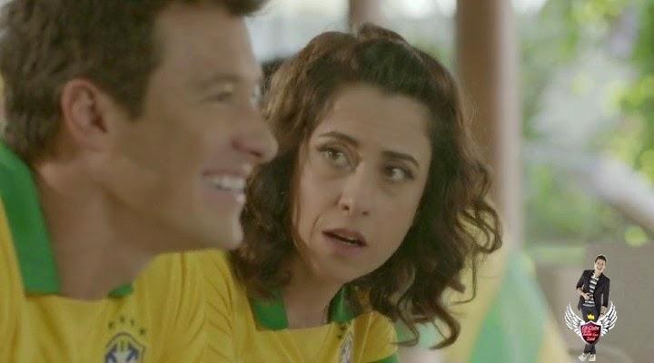 286d9a79ffe Fernanda Torres e Rodrigo Faro estrelam pra Ariel na Copa