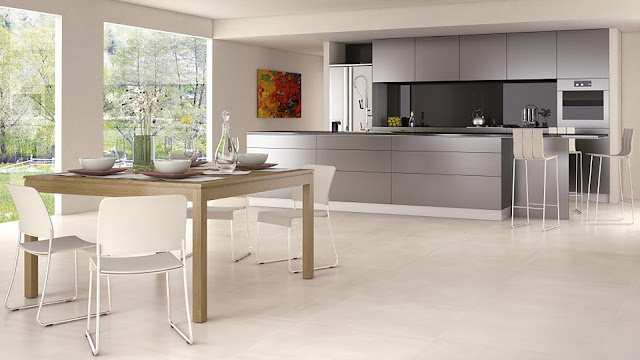 Tiles for floor design Proxima collection- Contemporary living matter