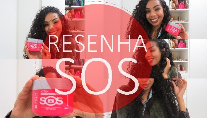 RESENHA MÁSCARA DE TRATAMENTO SOS RESSURREIÇÃO CAPILAR FELPS