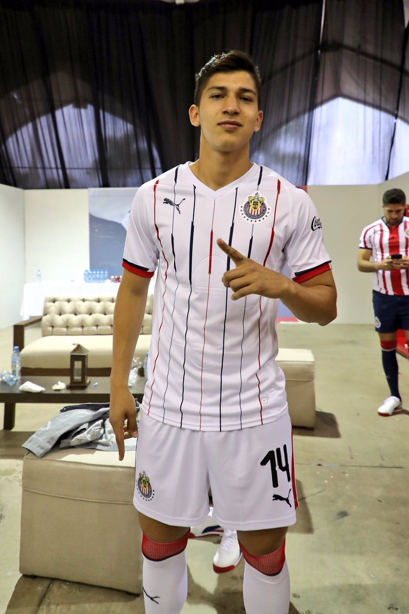 new products 1943a a22b6 Chivas 2018-19 Home & Away Kits Released - Footy Headlines