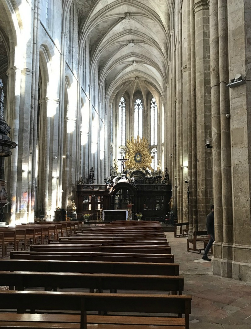 St-Maximin Basilica's Gothic Architecture