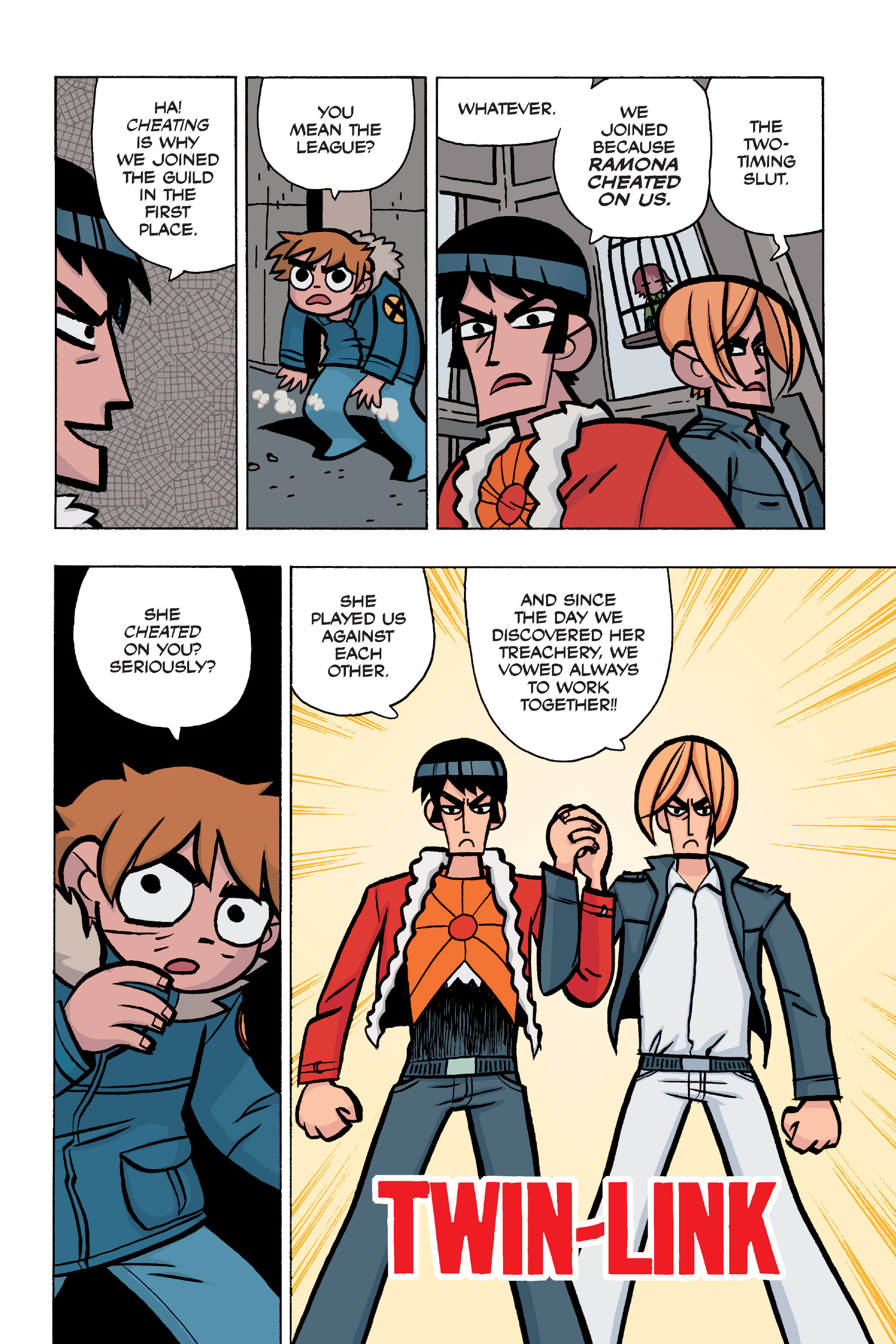 Read online Scott Pilgrim comic -  Issue #5 - 120