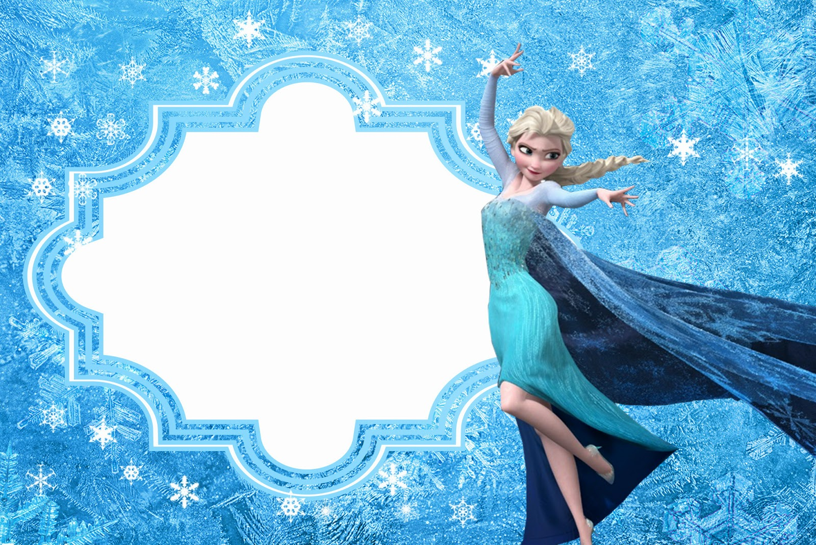 Frozen: Free Printable Cards or Party Invitations. | Oh My