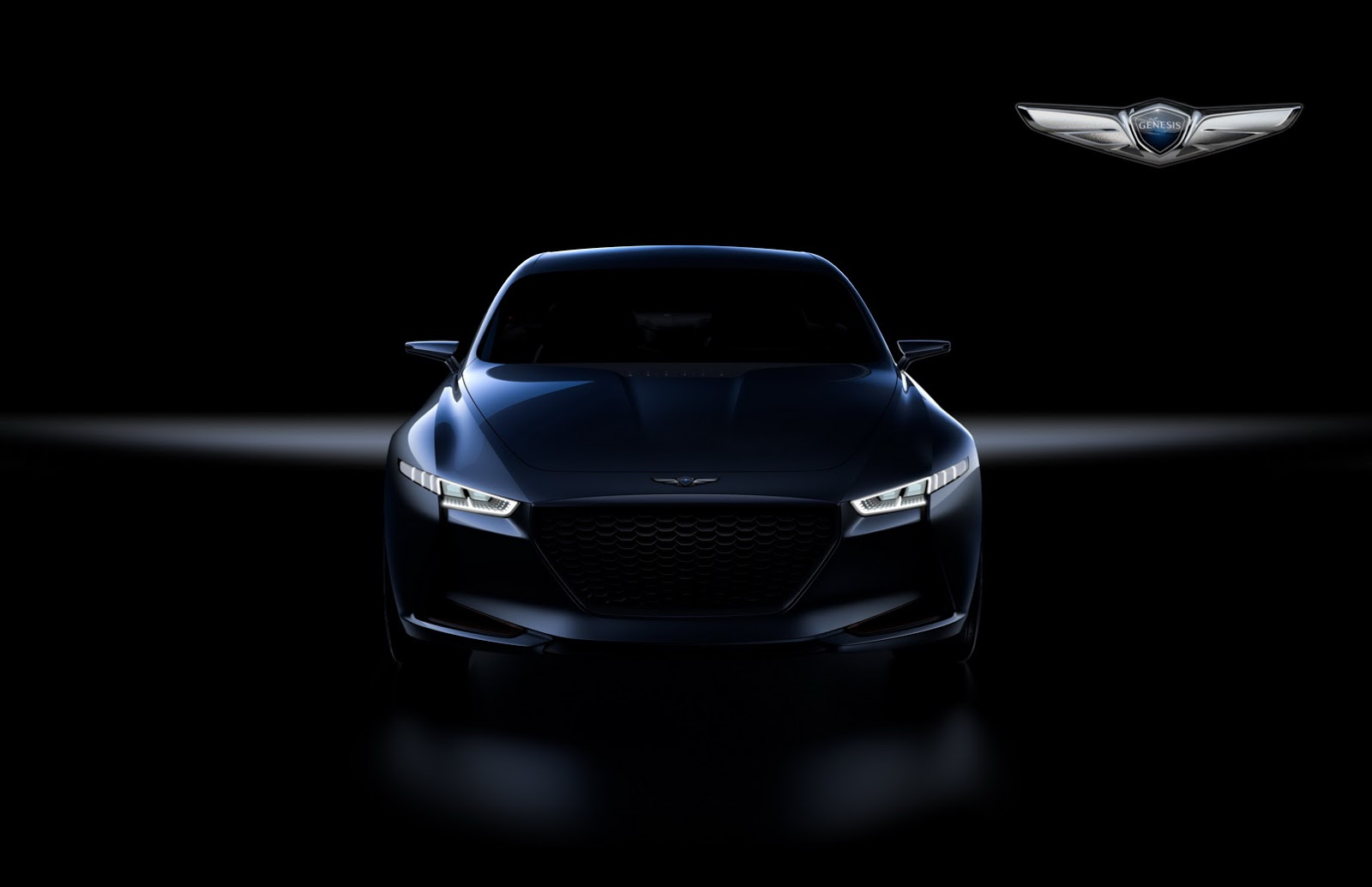 genesis new york concept may hint at bmw 3 series rival. Black Bedroom Furniture Sets. Home Design Ideas