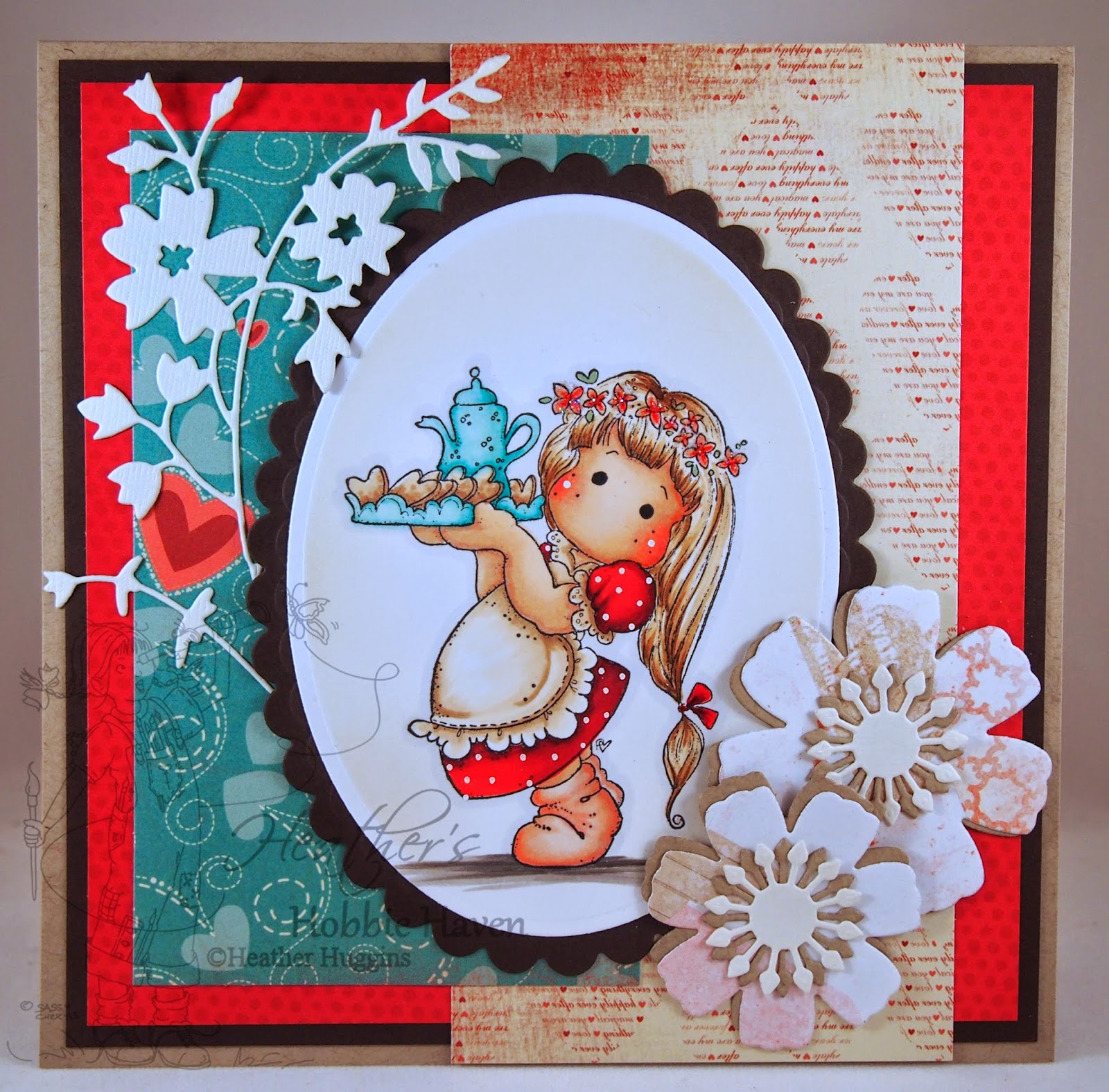 Heather's Hobbie Haven - Joyful Tilda Card Kit