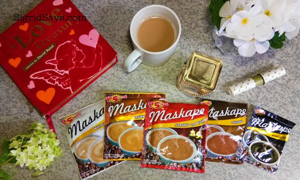 Maskape 3in1 Coffee variants