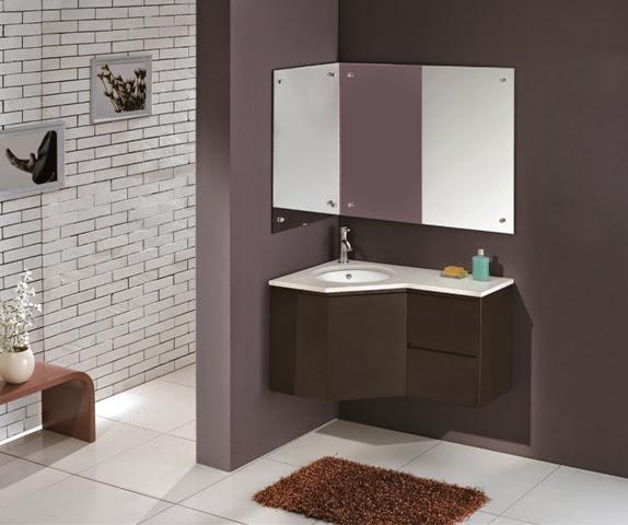 Black Bathroom Vanities Vienna Wall Hung Corner