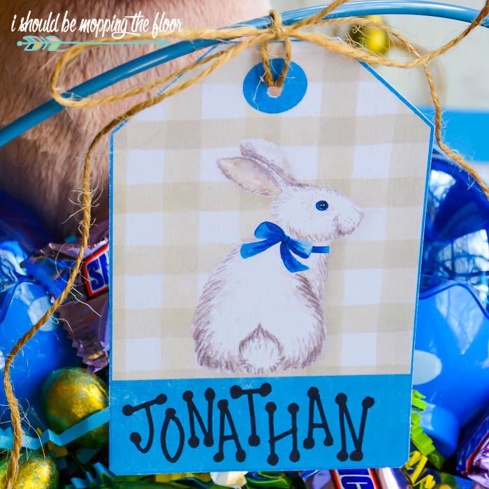 Labels for Easter Baskets