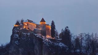 lago Bled castello