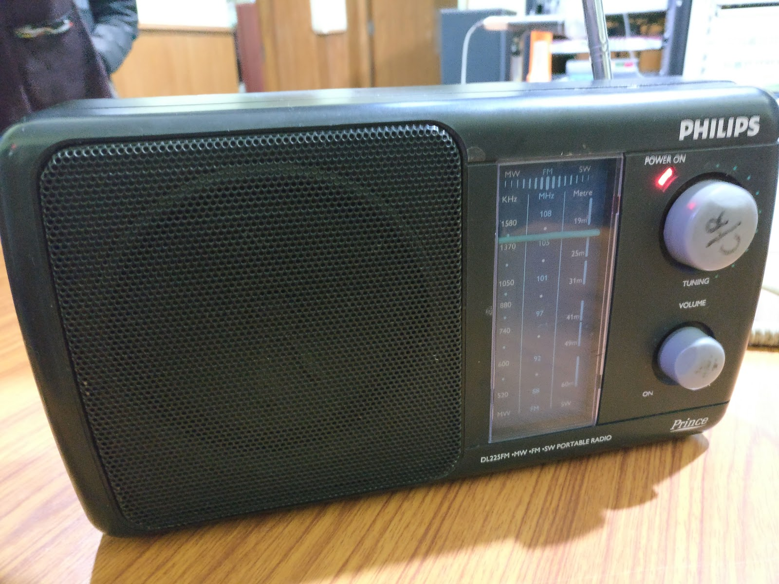 Patteriradio