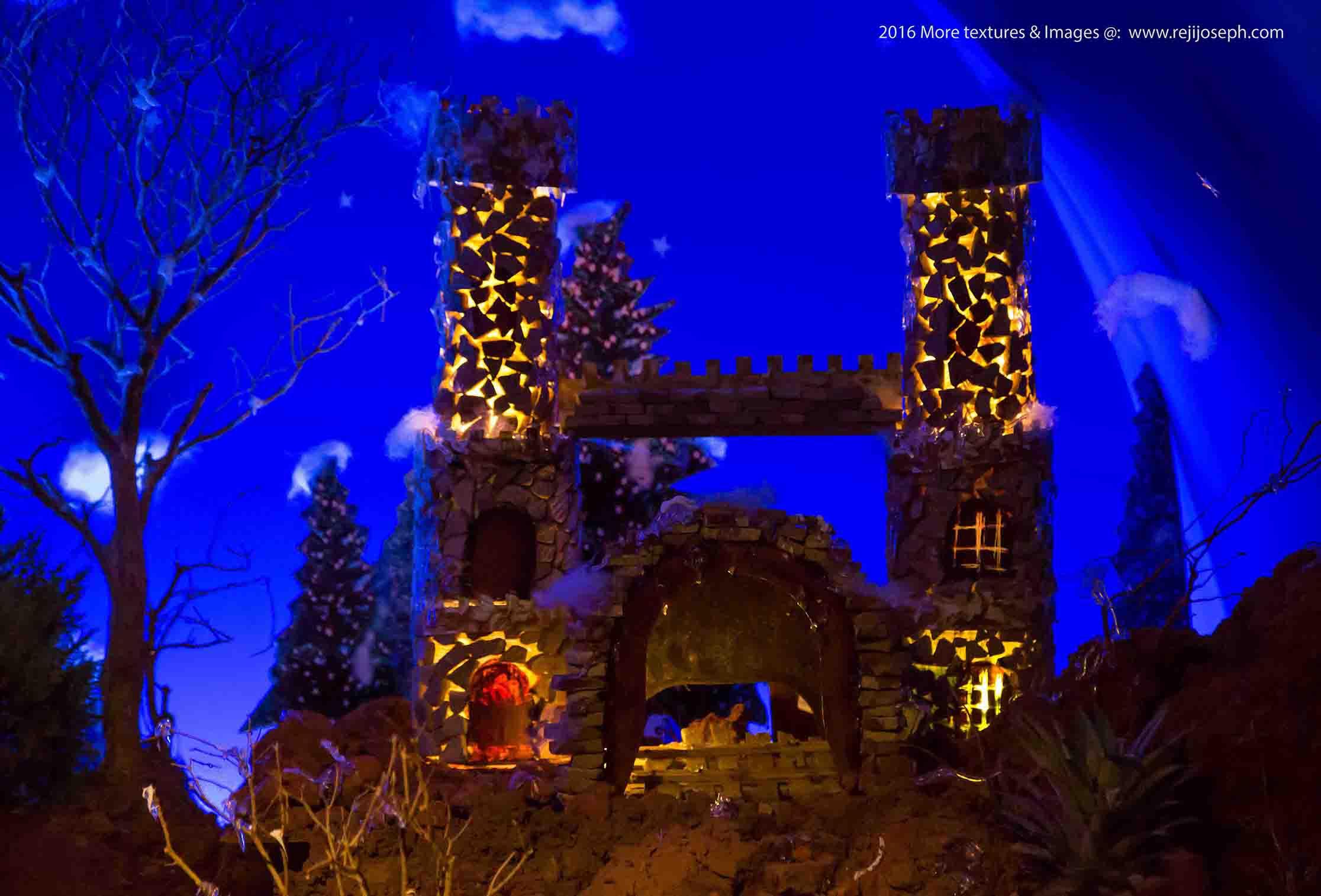 Christmas crib Pulkoodu St. George Forane Church Edappally 00016