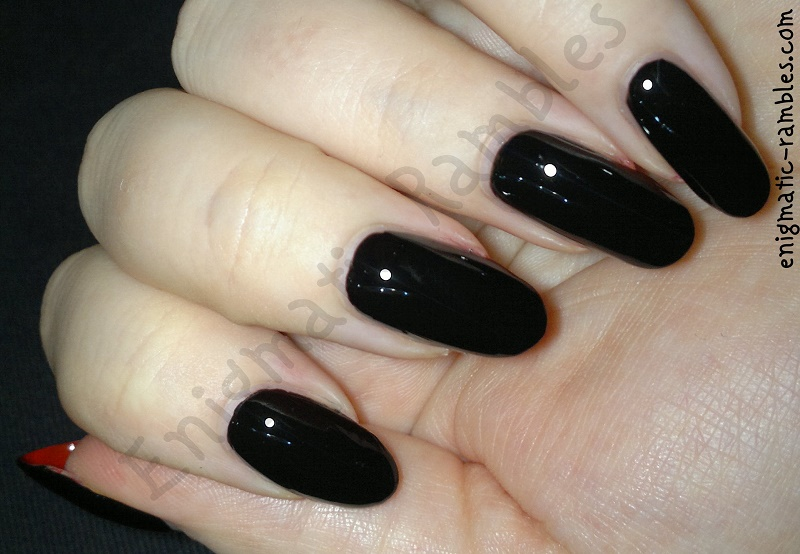 Enigmatic Rambles 31 Day Challenge Tutorial Louboutin Nails