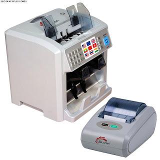 Máy đếm tiền Silicon MC 8PLUS chính hãng giá rẻ