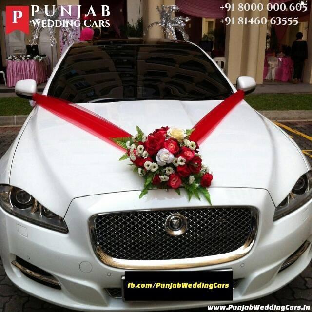 Luxury Wedding Cars Hire Punjab Chandigarh India Jaguar Xj L For