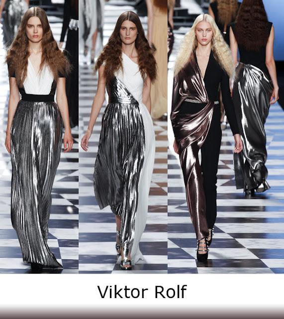 Spring Trend 2013 Viktor Rolf Metallic