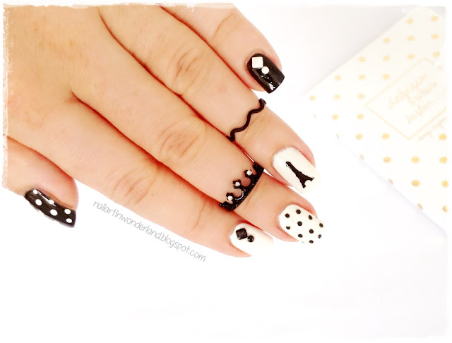 Twinsie Tuesday: Monochrome | Paris Nail Art