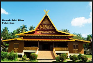 Desain Bentuk Rumah Adat Riau dan Penjelasanya, Rumah adat Indonesia, Arsitektur, Properti