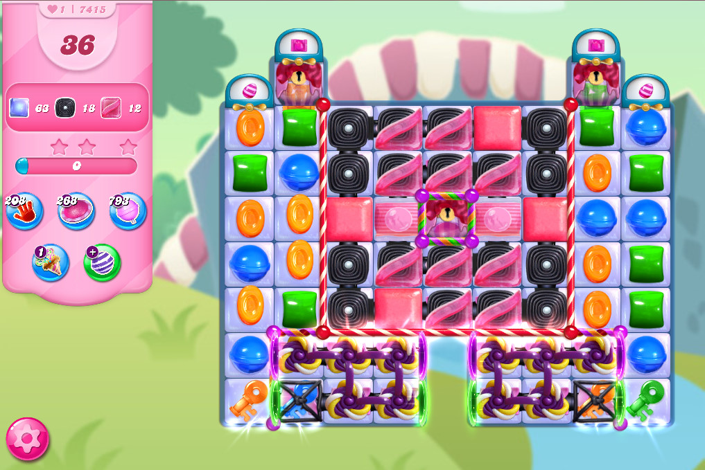 Candy Crush Saga level 7415
