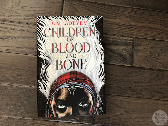 Children of Blood and Bone by Tomi Adeyemi book cover photo