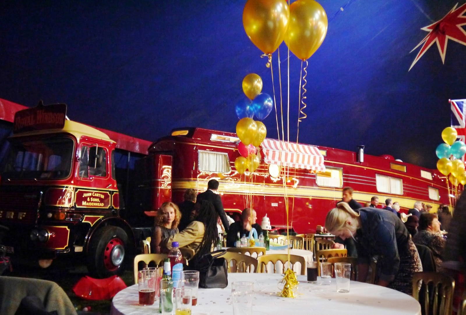 Carters Steam Fair Wedding - Royal Windsor Living Van