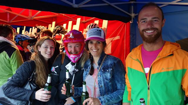 Party am Bikefestival in Riva