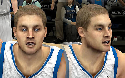 NBA 2K13 Luke Ridnour Cyberface Patch
