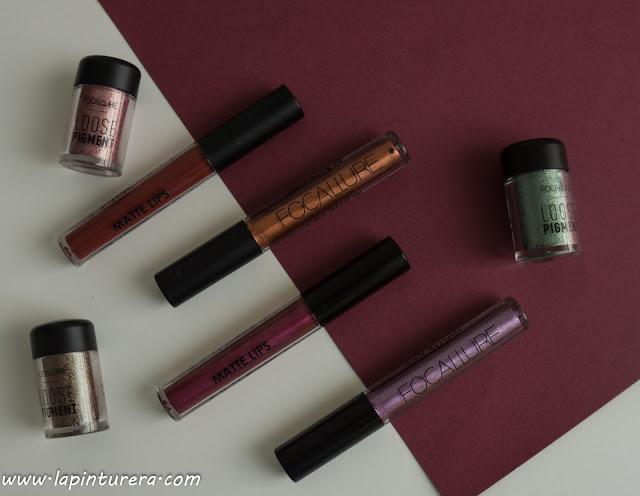 pigmentos y labiales