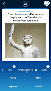 Jeux de Quiz Mythologie Screenshot1