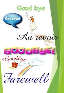 Saying Goodbye is never easy