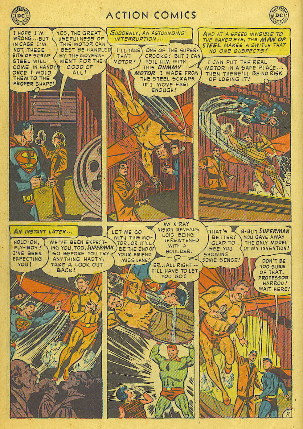 Read online Action Comics (1938) comic -  Issue #175 - 10