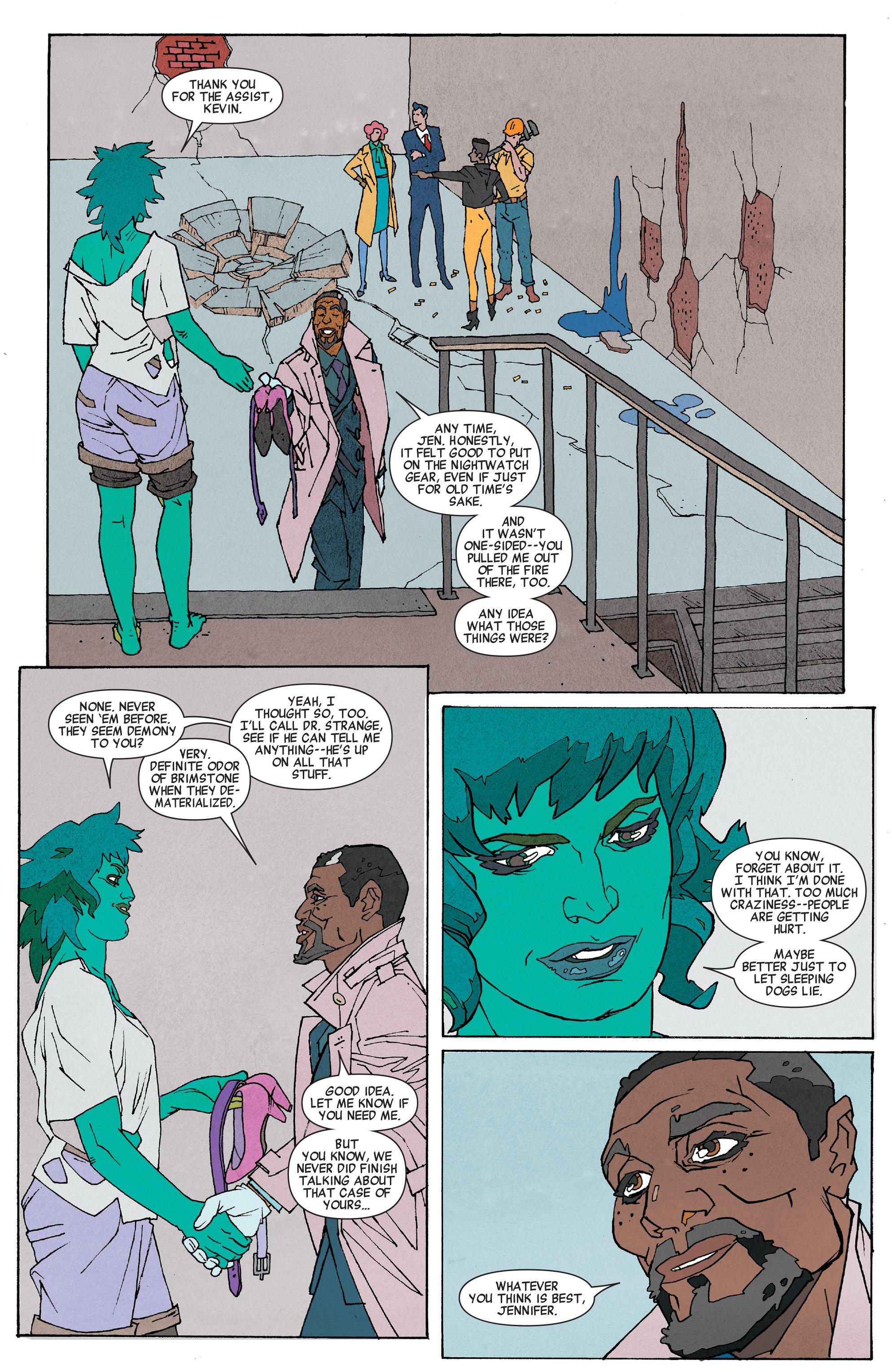 Read online She-Hulk (2014) comic -  Issue #6 - 12