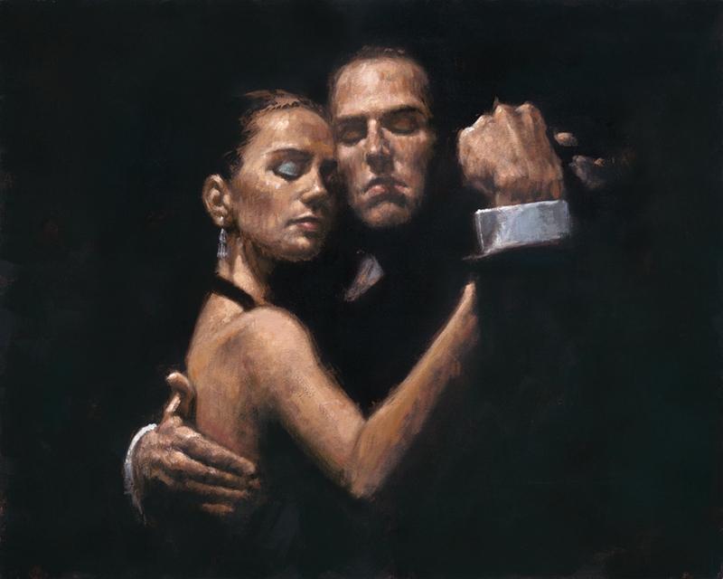 Fabian Perez 1967 ~ Argentine Figurative painter | Flamenco Dancers