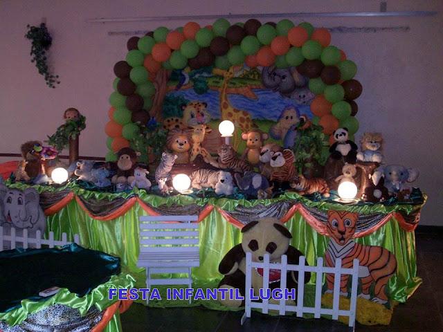 Decoração infantil Floresta Baby - Tradicional Luxo