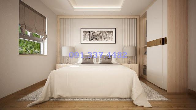 Không gian hài hòa, ấm cúng bên trong căn hộ tại Hope Residences