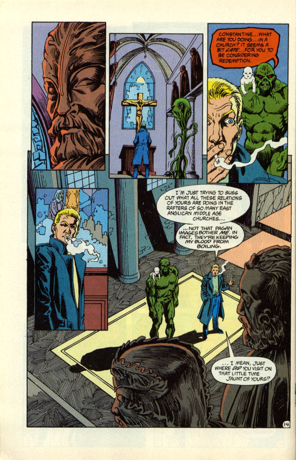 Swamp Thing (1982) Issue #99 #107 - English 15