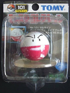 Electrode Pokemon figure Tomy Monster Collection black package series