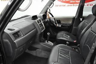 2000 Mitsubishi Pajero io to Uganda