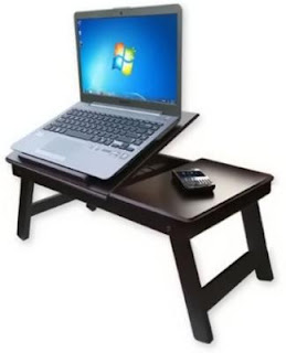 Solid Wood Portable Laptop Table