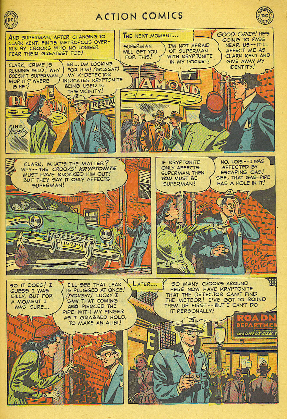 Read online Action Comics (1938) comic -  Issue #158 - 10